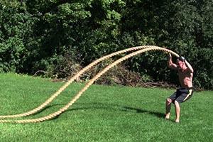體能訓練粗繩